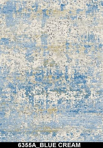6355A BLUE CREAM